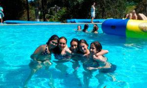 Campamento para jóvenes en México
