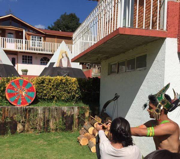 Tiro con arco Rancho Estado de México