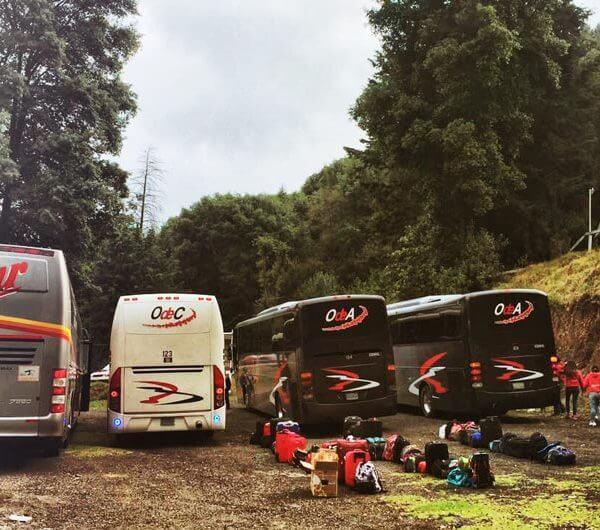 Transporte seguro hacia Rancho aventura