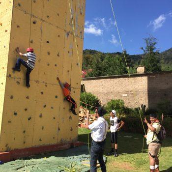 Campamentos con actividades fisicas para fomentarlas en los jovenes